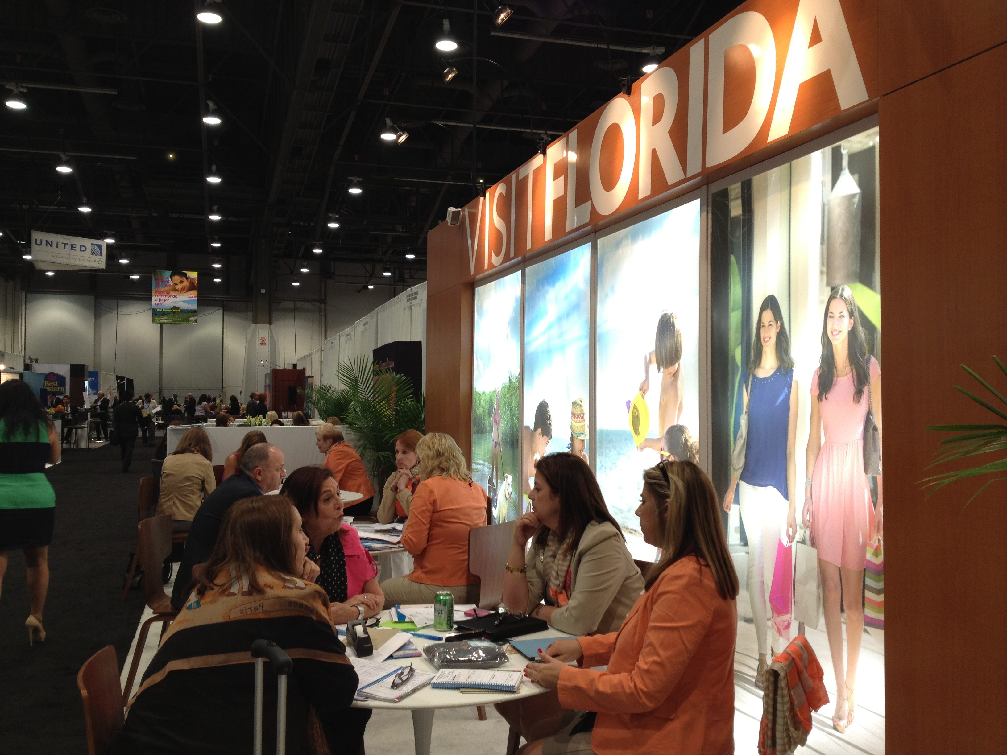 VISIT FLORIDA Enjoys Expanded Presence at 2013 IPW