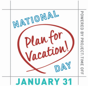 Nat'l Plan for Vacation Day logo